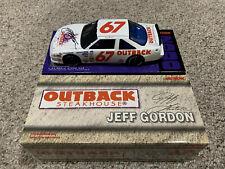1/24 JEFF GORDON 1990 #67 OUTBACK STEAKHOUSE PONTIAC ROOKIE MIB, AUTOGRAPHED