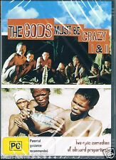 The Gods Must Be Crazy  1 & 2  Dvd COMEDY NEW AND SEALED