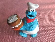 Vintage Sesame Street Cookie Monster Plastic Figurine/Cake Topper/Toy  Applause