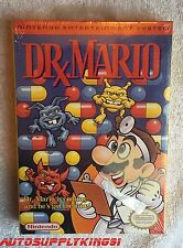 DR. MARIO (Nintendo NES, 1990) Video Game Factory Sealed New With Hang Tab Mint