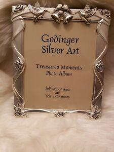 Godinger Silver Wedding Album 8 x 10
