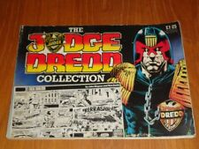JUDGE DREDD COLLECTION #1 BY JOHN WAGNER AND JOHN SMITH UK MAGAZINE =