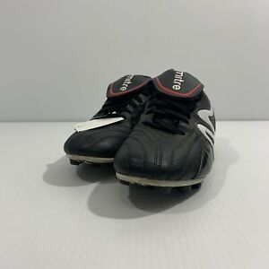 Mitre Soccer Cleats Youth Boys Girls Silver /& Black Multiple Sizes