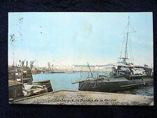 OLD  PPC~DUNKERQUE~BASSIN DE MARINE~NAVAL HARBOUR+SHIPS