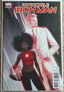 Invincible Iron Man #1 Dekal Variant Marvel Comics NM+