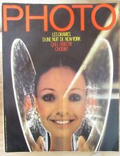 PHOTO MAGAZINE 1973 N° 68 LEONARD FREED HENRY WOLF LAURENCE SACKMAN INDIENS