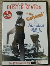 Buster Keaton Double Feature - The General/Steamboat Bill Jr. (DVD, 2004) Silent