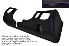 Púrpura Stitch conductor Inferior Tablero Trim Piel tapa se ajusta Mitsubishi Gto 3000gt 92-99