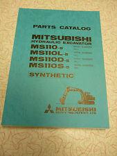 Mitsubishi MS110-5, MS110L-5, MS110D-5 and MS110S-5 Parts Manual