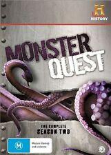 DVD Monster Quest Season 2 (5-Disc Set) GENUINE RELEASE R4 RARE OOP