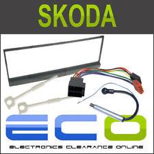 Skoda Fabia 01/99> Full Facia Fascia Panel Car Stereo Radio Fitting Kit FP-20-00