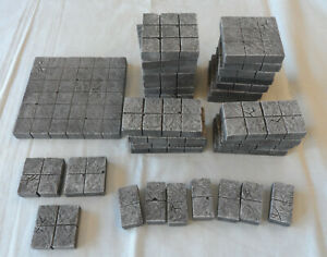Painted Modular Dungeon Tiles For Dungeons & Dragons Pathfinder Other TTRPG's