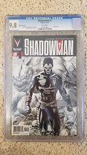 VEI Shadowman #1 Second Print CGC 9.8 # Valiant 1 VERY LOW PRINT RUN. RARE 2nd
