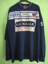 Maillot CHATEAUROUX Porté #5 entrainement Uhlsport Fenioux La halle vintage - XL
