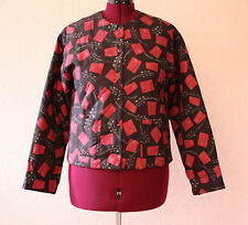 Peruvian Connection Quilted Jacket Size Medium