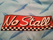 """Disney Pixar Cars Valance 16 x 84"""" blue red with Sponsors Stickers Graphics VGUC"""