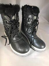 Polar Products Womens Snow Boot Quilted Short Winter Snow Rain Warm Wateprf 6