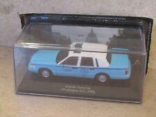 1/43e .Lincoln town car, washington, 1996 (taxi du monde)  altaya