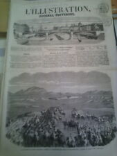 L'illustration n°722 27 déc 1856 razzia aïn ben Khelil jupon crinoline bûcheron