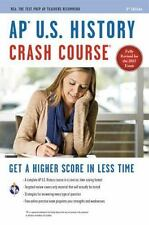 AP U.S. History Crash Course Book + Online Advanced Placement AP Crash Course
