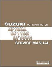2012-2013-2014-2015 Suzuki DF100A DF115A DF140A Outboard Motor Service Manual CD