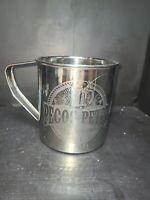 Pecos Pete's Natural Tea Soda Co. Tin Mug Cup Large Comic Con 64 fl oz