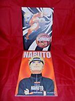 Lot of 2 Naruto Illustra.,Masashi Kishimoto; English,1st PR, Uzumaki-Japanese,LN