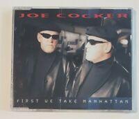 JOE COCKER : FIRST WE TAKE MANHATTAN (LEONARD COHEN) ♦ NEW MAXI-CD (NEUF) ♦