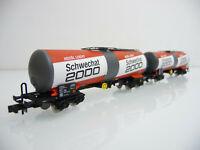 Arnold N 1:160 HN6228 2-teiliger Kesselwagen Zug SCHWECHAT 2000 4-achsig Zas
