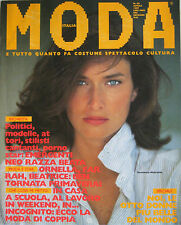 MODA 40 1987 Rosemary McGrotha Ornella Muti Beatrice Dalle Farrah Fawcett