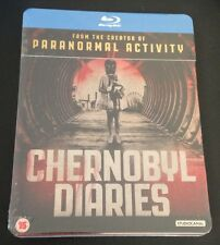 CHERNOBYL DIARIES Blu-Ray SteelBook Ltd UK Region B OOP Rare World Exclusive Art