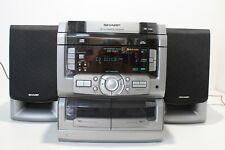 Sharp 3 CD Drawer Changer Musikanlage   (E151 0621B)