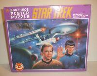 Sealed Star Trek Jigsaw Puzzle TOS Ugly Box Captain Kirk Spock Original Series