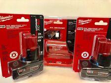 (2-PACK) Milwaukee 48-11-2460 M12 REDLITHIUM XC 6.0AH + USB POWER SOURCE