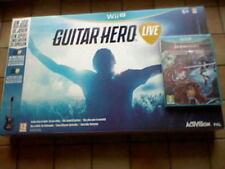 GUITAR HERO LIVE !!! Coffret NEUF + 1 Jeu WiiU NEUF OFFERT : Superbe sur WiiU