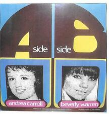 ANDREA CARROLL-BEVERLY WARREN - Rare tracks from LP on BT PUPPY [12 songs, 6 ea]