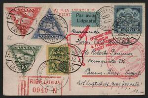 Zeppelin-Post 1932 - Von Riga nach Buenos Aires - 4. Südamerikafahrt
