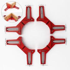 4 Gehrungszwingen 75mm Winkelspanner Winkelzwinge 90° Eckzwinge Gehrungszwinge