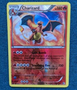 Charizard. Pokemon Boundaries Crossed. Reverse Holo (20/149)   Near Mint