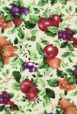 Country Tuscany Bright Fruit Grapes Vinyl Contact Paper Shelf Liner Peel Stick
