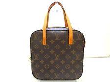 Authentic LOUIS VUITTON Monogram Spontini M47500 Handbag AR1022 w/ Dust Bag