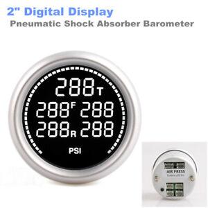 "2"" Digital Display Auto Car Batteries Temp Pneumatic Shock Absorber Barometer"