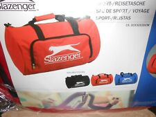 sac sport voyage SLAZENGER 3 coloris au choix : noir, rouge ou bleu - neuf