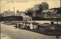 Dieppe France Haute-Normandie ~1910 Jardins du Casino Gruppenbild Frauen Femmes