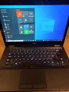 """Dell Latitude E7470 14"""" Touchscreen Intel i7-6600U 2.6GHz, 16GB RAM  512GB SSD,"""