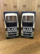 More details for guinness 440ml glass x2