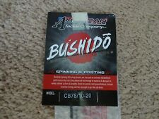 Rod Building Wrapping Bushido CB78/10-20 Graphite Blank