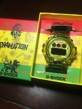 Casio G-Shock x in4mation Rastafarian Limited Edition Collaboration Rare US only
