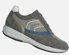 GEOX Uomo HAPPY P, Scarpe Casual Uomo Grey, Sneakers Man Shoes, Grigio, U0162P