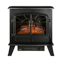 Russell Hobbs RHEFSTV2003B 1850 W Electric Stove Fire, Black